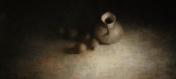 Tussen licht en donker 60 x 130