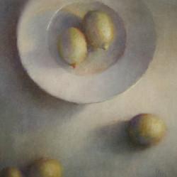 Bord met citroenen 100 x 100