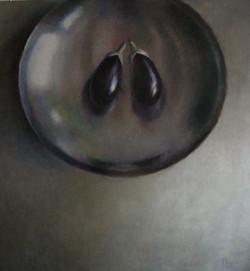 Aubergines 150 x 140