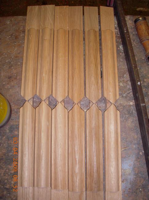 Préparation des petits bois