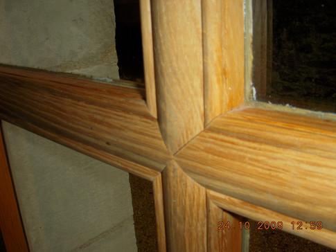 Croisillons de petits bois XVIII à coupes d'onglets
