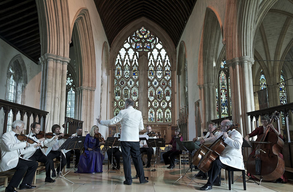 Orchestra of St Johns Conducted by John Lubbock