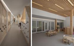 Couloir / Section des grands