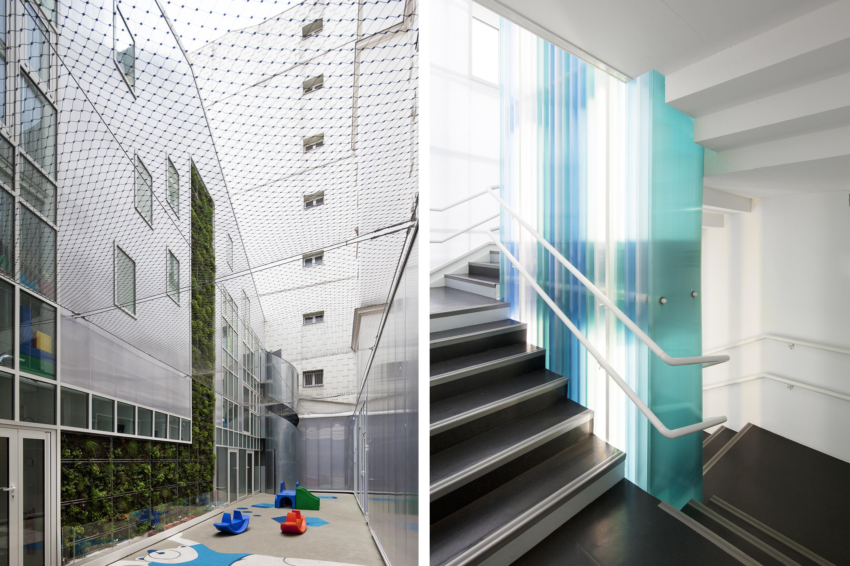 Jardin / Escalier