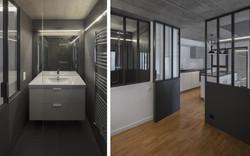 Salle de bains et chambre