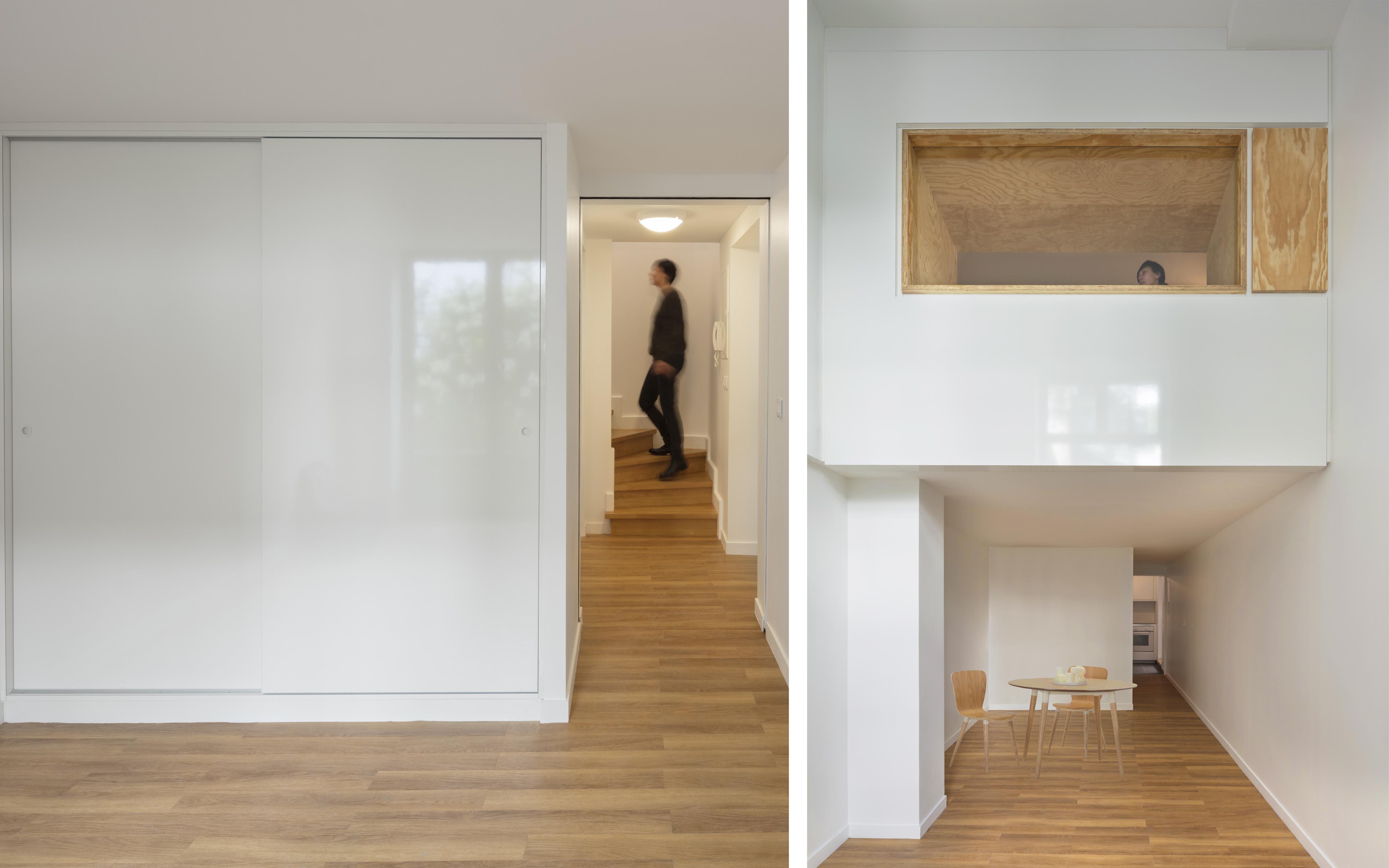 Chambre et double hauteur