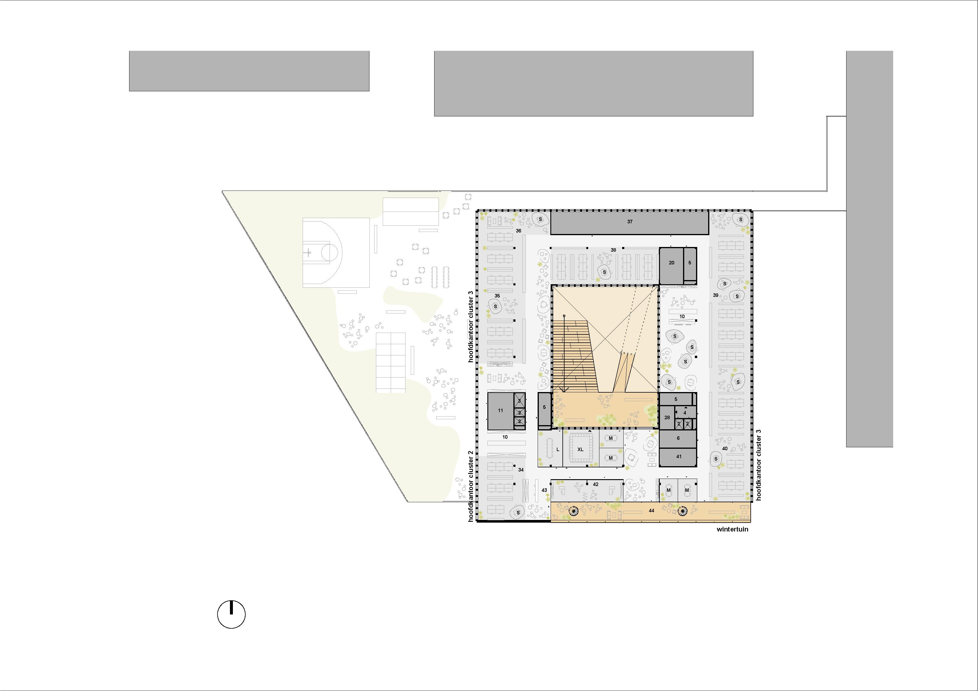 plan verdieping 3