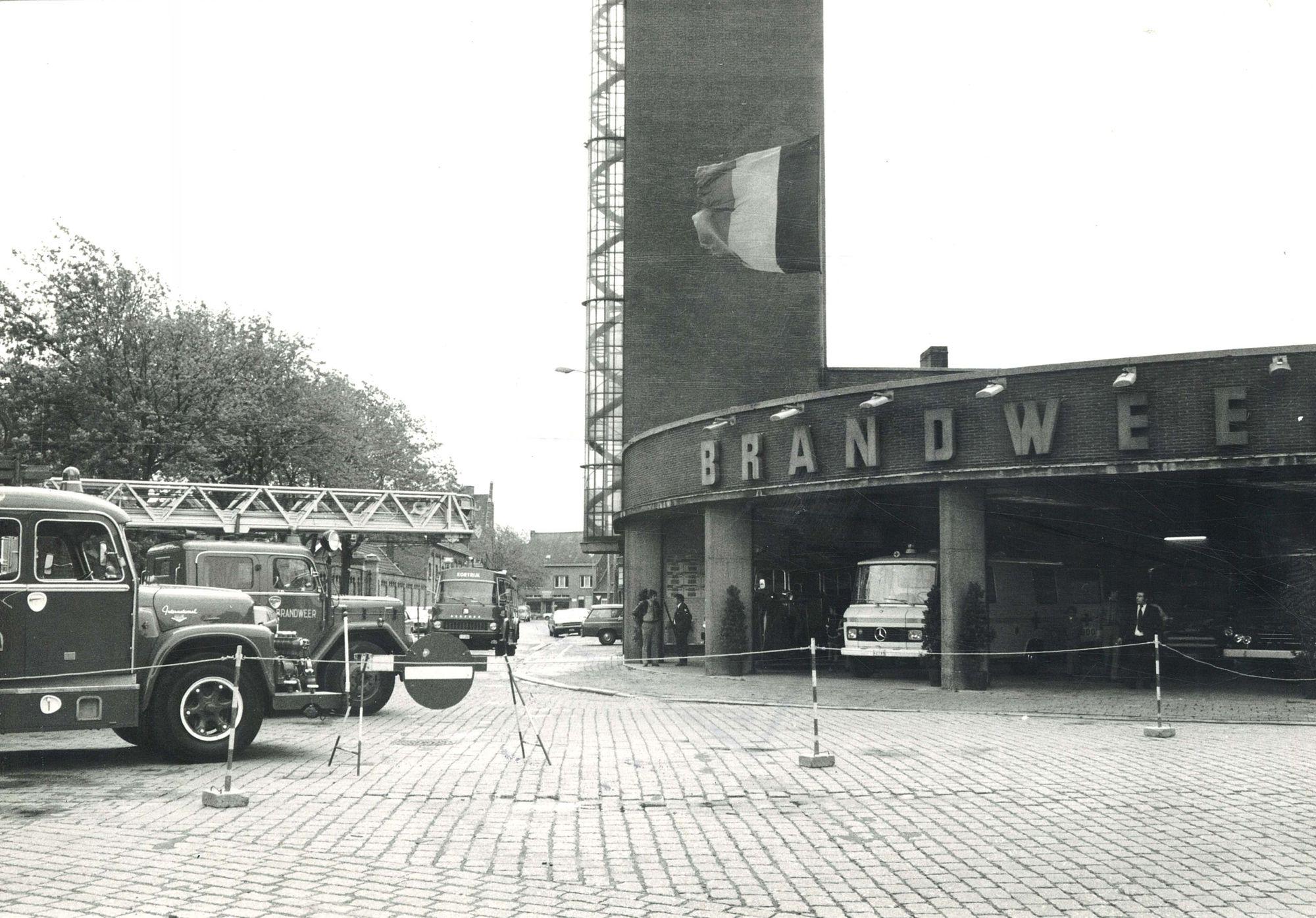 BRAK - oude foto brandweerkazerne