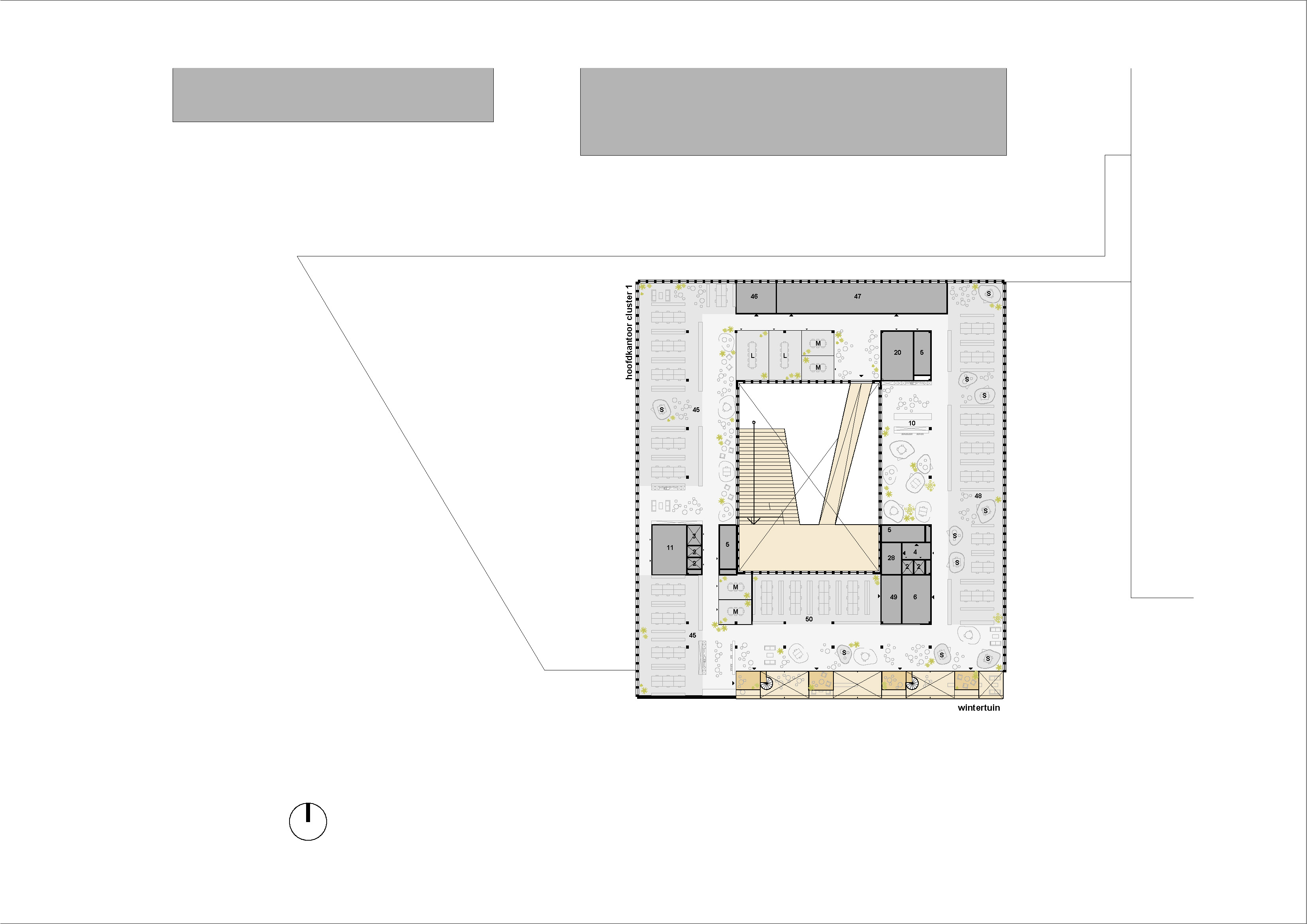 plan verdieping 4