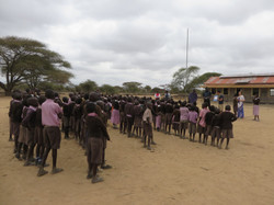 Oral health education in Olgulilui
