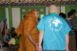 Monk Paung Paung and Charles