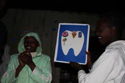 Oral health education at Teule Kenya