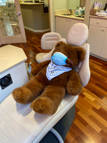 Teddy is ready for his appointment