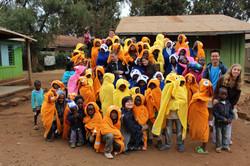 Hoodie blanket donations!