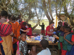 Oral health assessments in Olgulilui