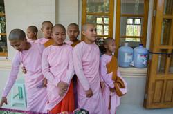 The nuns of Kyaukpadaung