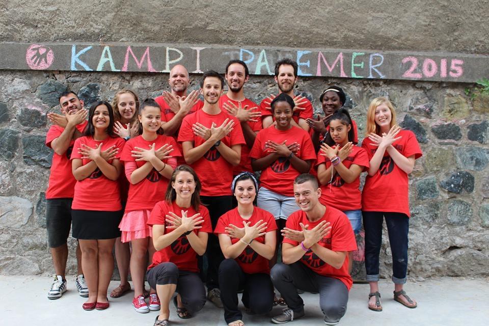 Camp No Name staff