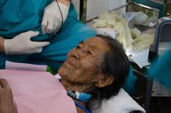 Tattoo woman of Chin State