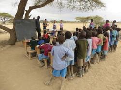 School under Acacia tree lessons