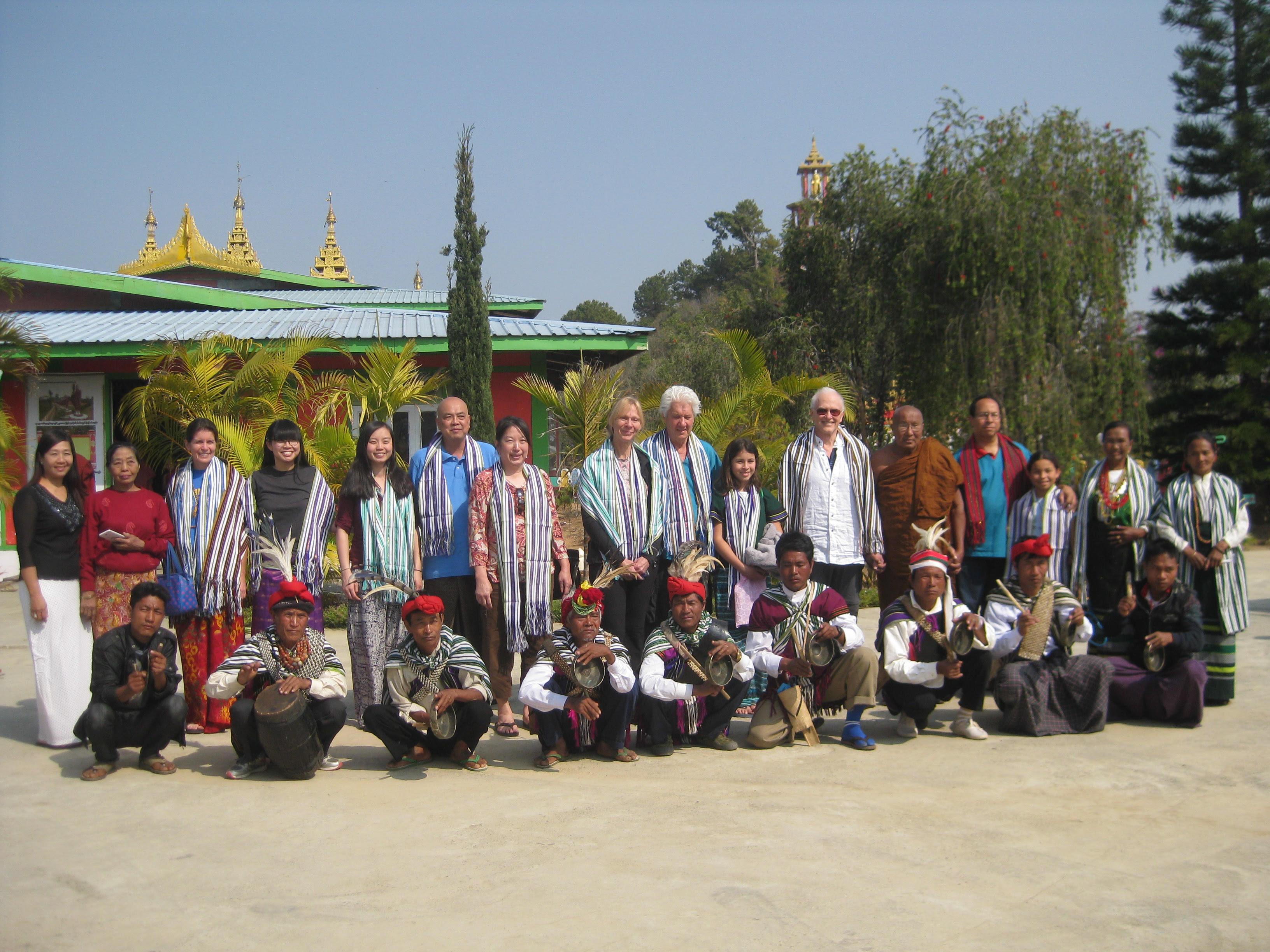 1W1T team with Paung Paung & locals
