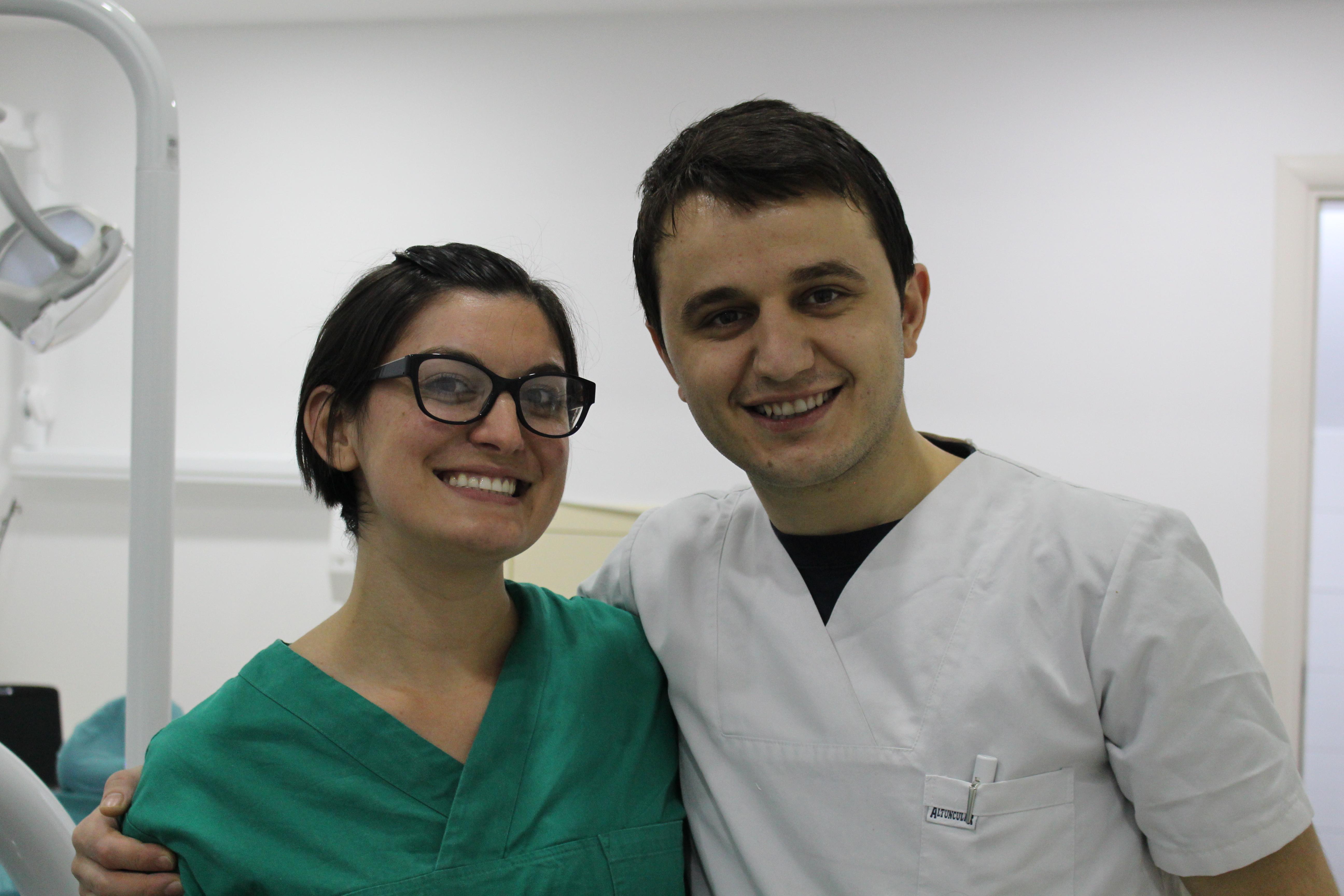Dr. Zamir Alliu and Alba