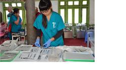 Sterilization station with Cassarah
