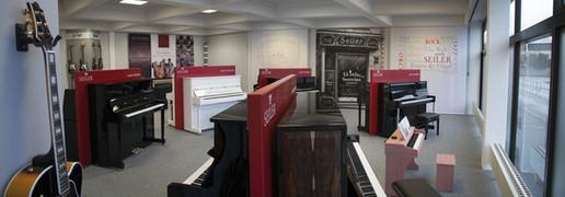 Einblick in den 2014 eröffneten Showroom in der Schwarzacher Str. 40