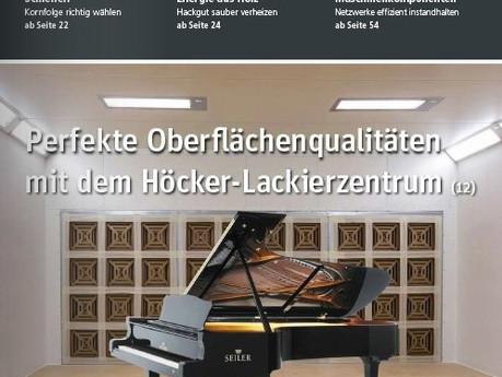 Pressebericht – Lackierung in H-Dur: Perfekte Oberflächenlackierung mit dem Höcker-Lackierzentrum