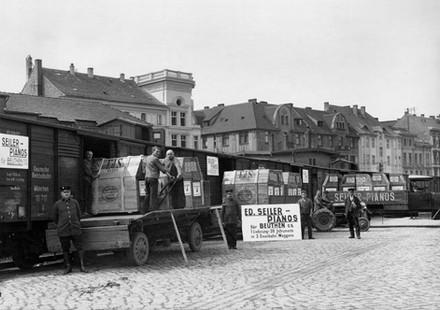 Versand per Deutsche Reichsbahn
