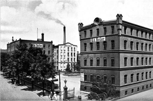 Fabrik-Neubau in Liegnitz