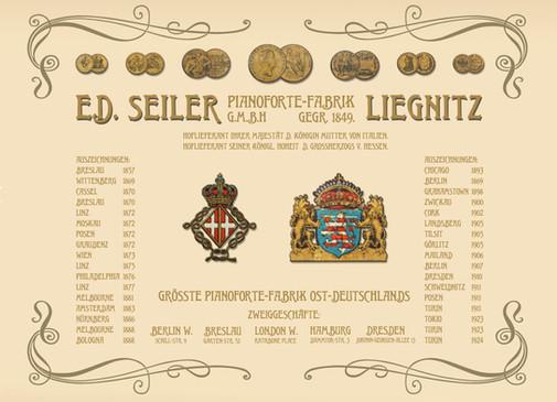 Goldmedaillen und Auszeichnungen der Anfangszeit