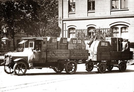 Zulieferung per LKW