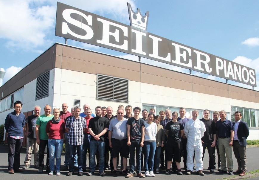 Die Seiler-Mannschaft in Kitzingen (2017)