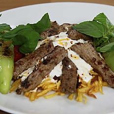 Yoğurtlu kebab