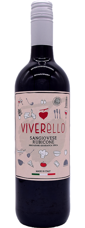 2018er Viverello Sangiovese del Rubicone I.G.T.