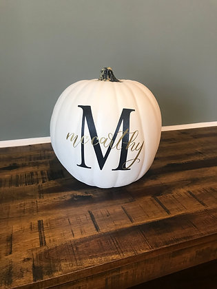 Custom Family pumpkin