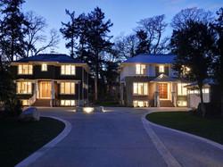 Hewlett Estates twilight
