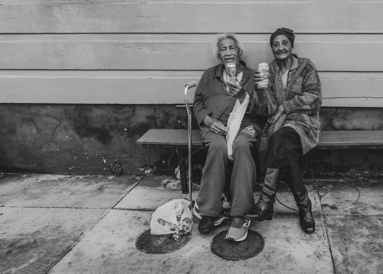 Miss Marion And Her Brother In The Treme