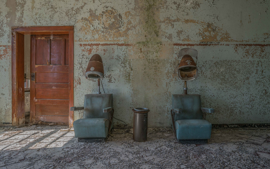 State Hospital Salon Chairs