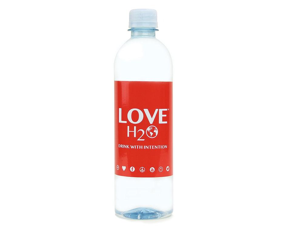 LOVE H2O    24QTY 500ml Bottles