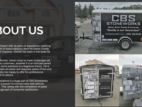New Website For CBS StoneWorks
