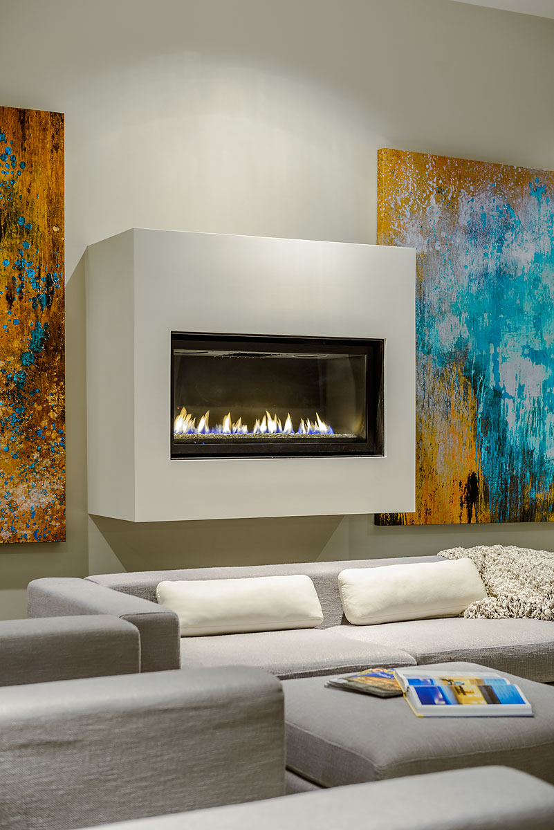 The Dwell on Despard Fireplace