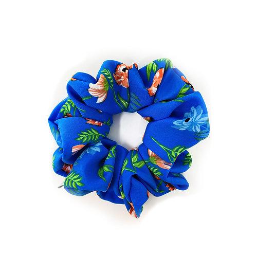 Blue Hawaiian - Hair scrunchie