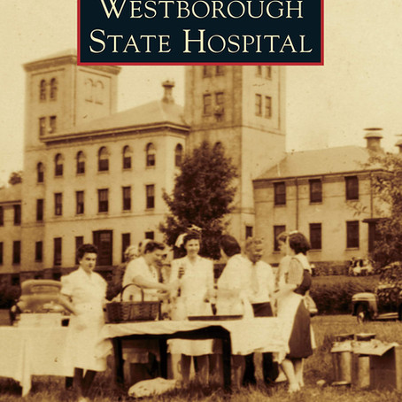 Four of my images were selected for the new book, Westborough State Hospital