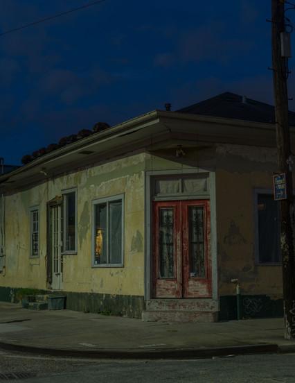 Corner Coffee & Laundromat After Katrina