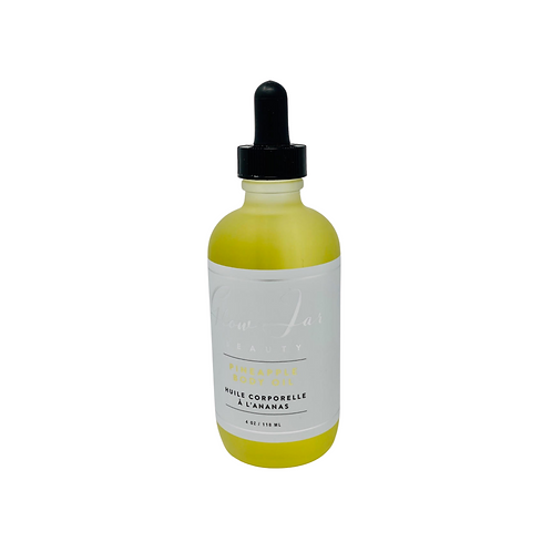 Glow Jar Beauty Pineapple Body Oil