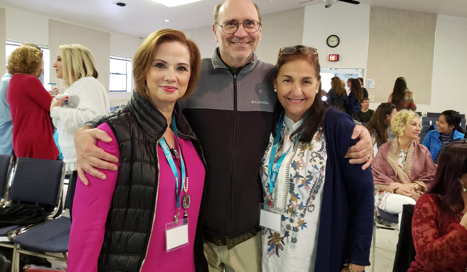 With Margarita and Rosario