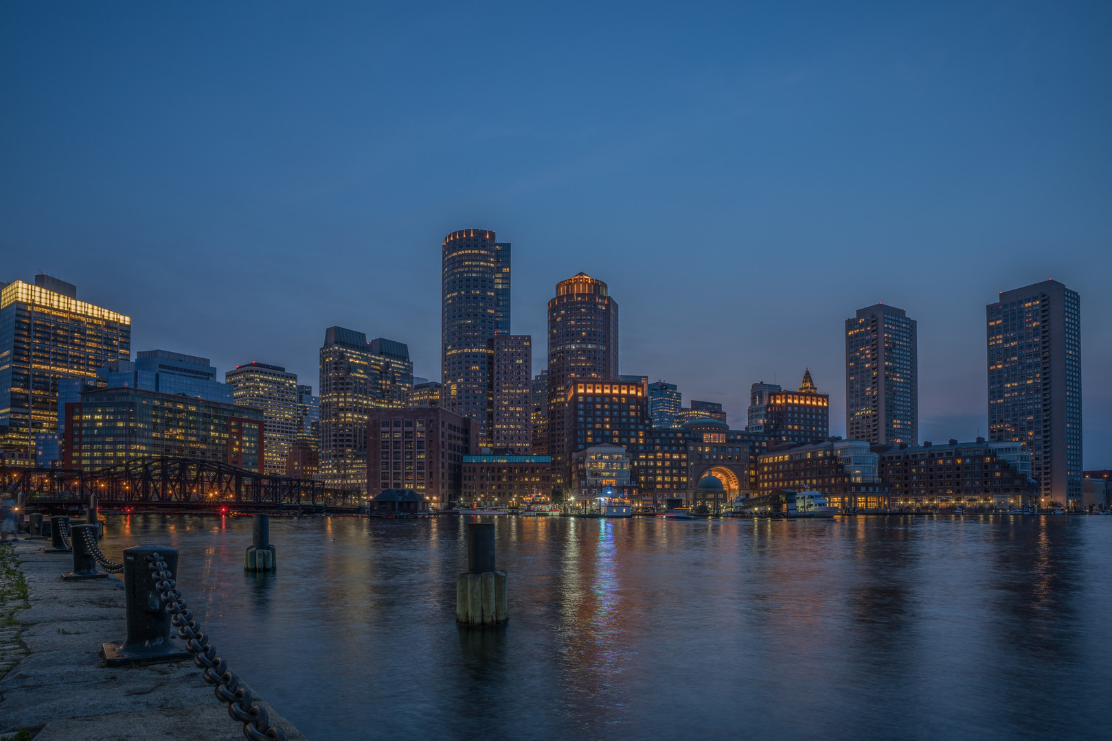 Boston City Lights