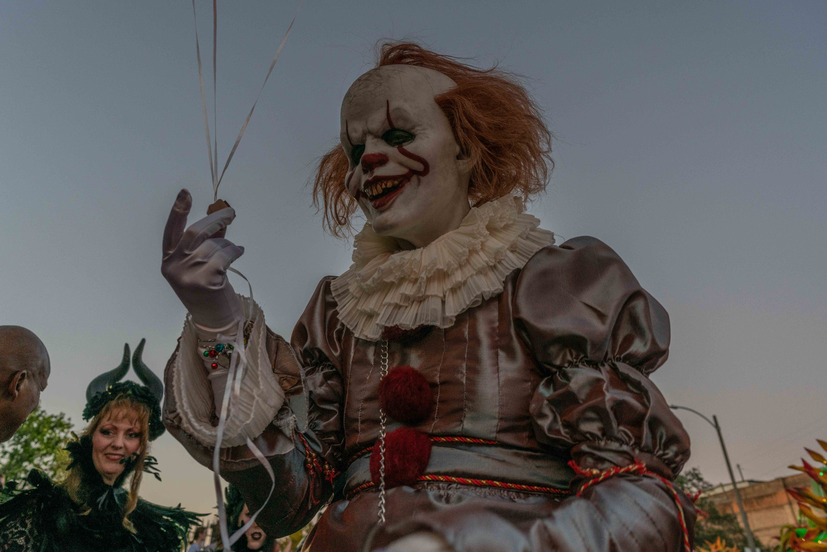Pennywise Parades With The Krewe Of Boo