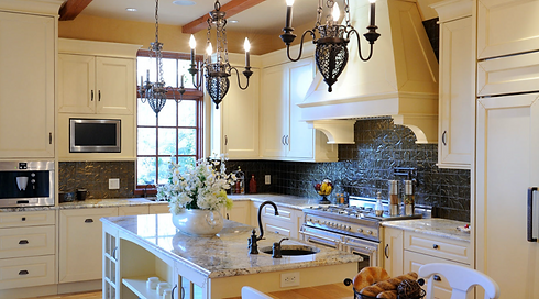 Victoria BC Electrician Gorge Electrical Custom kitchen lighting